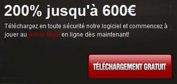 bonus titan poker de 600€