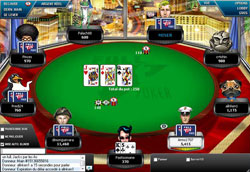 table sur Full Tilt poker